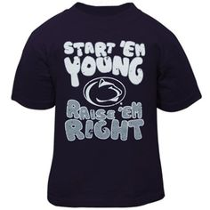 5ff21dd8bfb Penn State Nittany Lions Toddler Start 'Em Young T-Shirt - Navy Blue