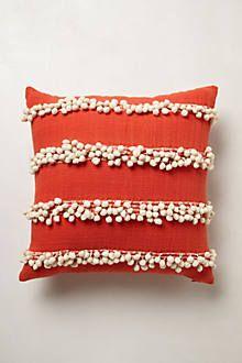 Tassel Trace Pillow, $58, @Anthropologie