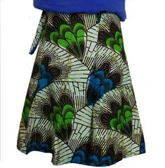 Fair Trade African wrap skirt from Eastern Congo!  Perfect for the beach!
