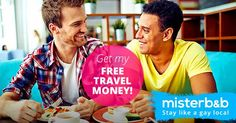 Let's build the global gay #travel community together. misterb&b! Sign-up with my link and get $25 off your first travel! Stay like a #Gay Local.