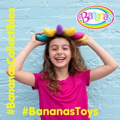Bright, fun colors of Bananas Collectible Toys remind us that Spring has officially arrived! Go Bananas, Collectible Toys, Bright, Space, Spring, Colors, Fun, Floor Space, Colour