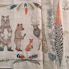 CORAL & TUSK -- Some table runners from our fall line! #embroidered #tablerunners #coralandtusk