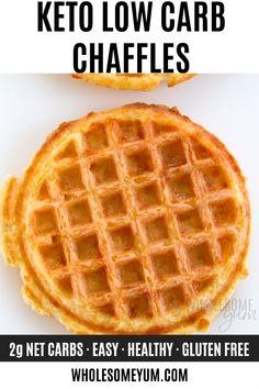 Keto Chaffles Recipe Ways! Diet Ketogenik, Ketogenic Diet, Dukan Diet, Diet Menu, Law Carb, Low Carb Waffles, Keto Waffle, Waffle Waffle, Comida Keto