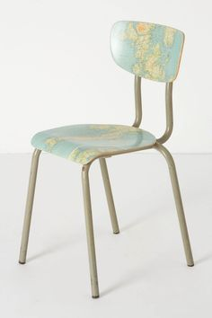 Geography Lesson Chair - Anthropologie.com