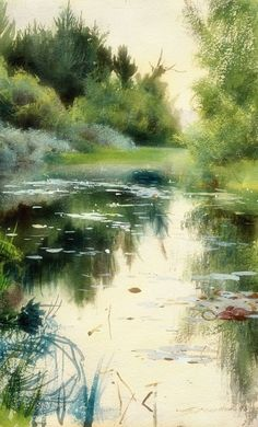 Watercolor - artiste inconnu