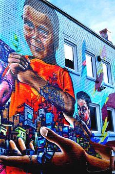 Graffiti Alley, in Toronto's Fashion District