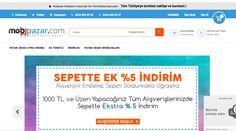 MobPazar #online satışlarını #Ticimax #eticaret altyapısı ile yapıyor.  https://www.ticimax.com/