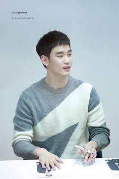 ZioZia fansign 161217  #KimSooHyun #김수현