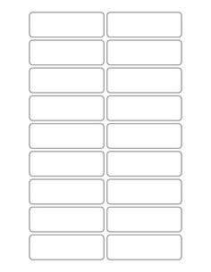 Free blank label template download: WL-125 template in Word .doc ...