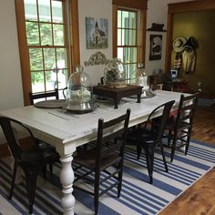 What is a farmhouse table? Farmhouse table is a rural style kind of furniture and it is a significant piece of French nation way of life. The most widely recognized kind of farmhouse tables is the kitchen tables and dinning… Continue Reading → Farmhouse Dining, Kitchen Design Decor, Rustic Kitchen Design, White Farmhouse Table, Dining Table, Home Decor, Large Dining Table, Dining Room Table Decor, Dining Table Design
