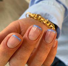 image découverte par J.. Découvrez (et enregistrez !) vos images et vidéos sur We Heart It Nagellack Design, Nagellack Trends, Stylish Nails, Trendy Nails, Nails Ideias, Nail Jewelry, Funky Nails, Fire Nails, Minimalist Nails