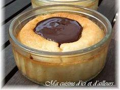 Recette de Flan coco, coulis de chocolat : la recette facile
