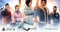 Sushee is raising funds for Fear Effect Sedna on Kickstarter! Hana, Rain, Deke and Glas return in a brand new Fear Effect adventure. Join them as they once again confront the spirit world. Video Game News, Video Game Art, Video Games, Game Informer, Nintendo News, Spirit World, Indie Outfits, The Grim, Indie Games