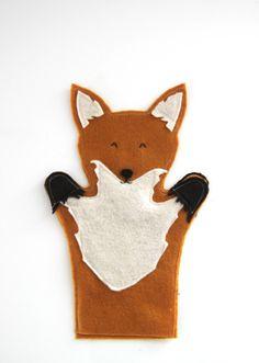fox hand puppet how to | via @Karen Jacot Jacot Darling Me Pretty