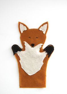 fox hand puppet how to | via @Karen Jacot Jacot Darling Me Pretty