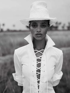 aya jones by nico bustos for vogue spain march 2016 | visual optimism; fashion editorials, shows, campaigns & more!
