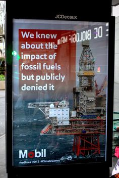 600 Fake Outdoor Ads in Paris Blast Corporate Sponsors of the COP21 Climate Talks - Nov 30, 2015 -