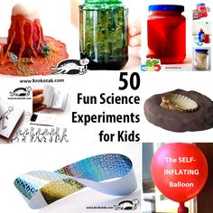 50 Fun Science experiments for Kids