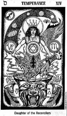 1000+ images about Tarot: XIV Temperance on Pinterest ...