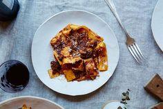 Andy Ward & Jenny Rosenstrach's Pork Shoulder Ragu - Provided by Food52