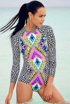 Swim, Sun, and Style - Shop One Piece Suits!