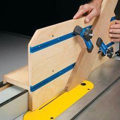 Woodworking Jigs Versatile Table Saw Jig
