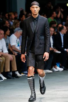 Givenchy Spring 2015 Menswear Fashion Show
