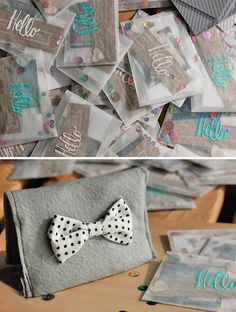Today I want to share my diy business cards, and this simple card holder. Business Card Holders, Business Cards, Announcement Cards, Happy Fun, Diy Projects To Try, Packaging Design, Gift Wrapping, Inspiration Boards, Paper