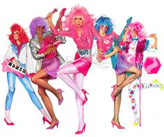 Jem! I watched all the episodes through Netflix. It was great.