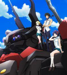 The Robros: Kuromukuro - New Mecha anime