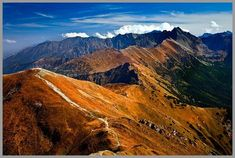 Tatra Mountains, Poland. Czerwone Wierchy.