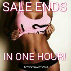 ☆☆$35 #CINCHER #SALE!  ENDS IN ONE HOUR! MIDNIGHT! ☆☆ #TAG & #SHARE #ORDER AT WWW.MYSEXYWAIST.COM  At Low prices! Start #Training #Today! Lose inches! Real People #Real #Results! #trainhard #hourglassfigure #teamnowaist  #waisttraining, #waisted #snatchitback #Fit #corsets #snatched #Diva #FITNESS #Discount#waistshaper #snatchedwaist #waisttrainer #waistcinchers #mysexywaist #whatsawaist #nowaist #getwaisted #Deals