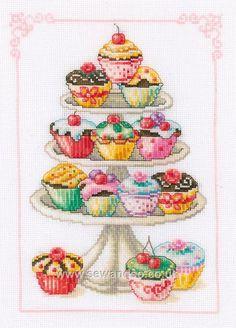 Cupcake Cross Stitch!