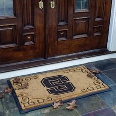 NCSU Wolfpack Doormat Door Mat