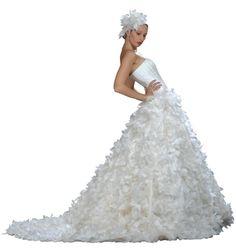 2009 Gown Wedding, Bridal Gowns, Wedding Dresses, One Shoulder Wedding Dress, Bride, Style, Fashion, Wedding Dressses, Originals