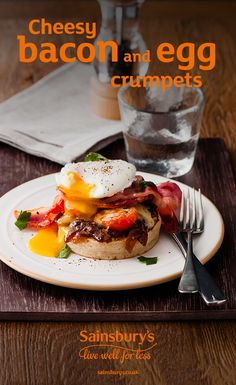 #FathersDay #MakeForDad #Recipe #Sainsbury's #Cheese #Number1Dad  #Breakfast #Crumpets