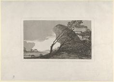 Goya (Francisco de Goya y Lucientes) | Landscape with buildings and trees | The Met