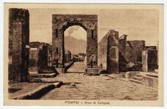 Postcards - Italy #  664 - Ruins of Pompeii