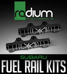Radium Engineering has released two fuel rail kits for Subaru Boxer engines found in the Impreza WRX/WRX STi, Legacy GT and Forester XT. This family of fuel rails and related accessor...