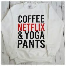 Coffee Netflix Yoga