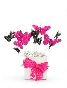 baby shower butterfly centerpieces - Google Search