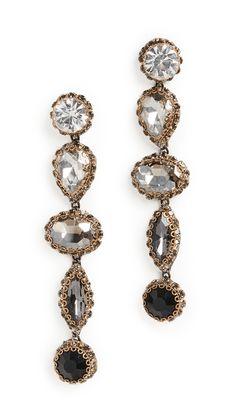 Deepa Gurnani Deepa by Deepa Gurnani DeeDee Earrings India Fashion, World Of Fashion, Deepa Gurnani, Designer Earrings, Soft Fabrics, Women Accessories, Stud Earrings, Stuff To Buy, Jewelry