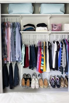 The KonMari Method Clothes Organization | JustAGirlAndHerBlog.com
