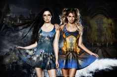 Great Lake vs Great Hall Inside Out Dress ($180AUD) by BlackMilk Clothing