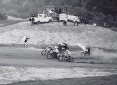 "Vintage scrambles at Halls Ranch ""Cycle Hills"" Morgan Hill Ca. Morgan Hill, Fast Fridays, Flat Track Racing, Flat Tracker, Street Bikes, Vintage Racing, Race Day, Scrambler, Back In The Day"
