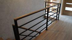 Modern Stair Railing, Balcony Railing Design, Metal Stairs, Modern Stairs, Staircase Design, Lobby Design, Loft Spaces, Stairways, Sweet Home