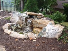 Easy Backyard Water Features | Pondless Water Feature | Green Side Up