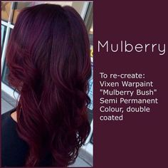 Vixen WarPaint Mulberry #CaliPostCo
