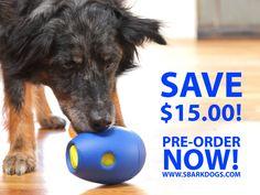 Tikr-activity dog toy.  On SALE Now!