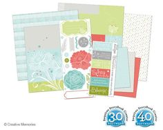 Spring Digital Additions for PC from Creative Memories  #digitalscrapbooking    www.creativememor...